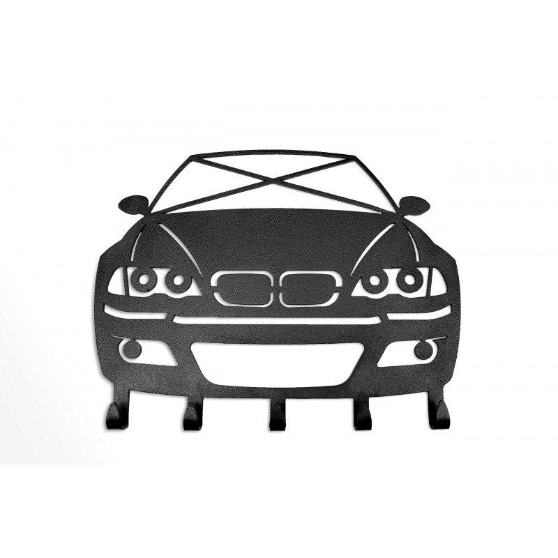 Wieszak na klucze BMW E46 ekstra prezent drift - GRUBYGARAGE - Sklep Tuningowy